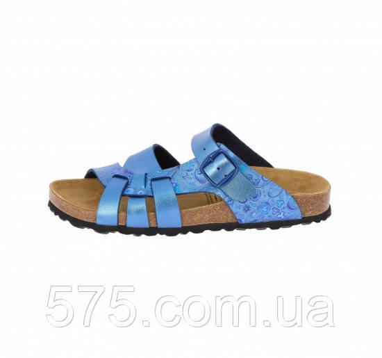 Шлепанцы женские Lico (560064) Голубой