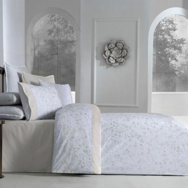 Комплект постельного белья евро перкаль  200*220 Hermanus Home