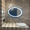 Зеркало с LED подсветкой овальное, 600х800мм, L36