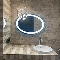 Зеркало с LED подсветкой овальное, 600х800мм, L36, фото 1