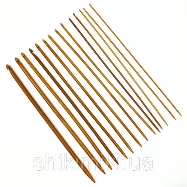Крючок бамбуковый для тунисского вязания, N7