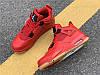 Чоловічі кросівки Air Jordan 4 Retro Fire Red Singles Day 2018 AV3914-600, фото 2