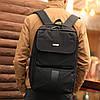 Рюкзак мужской городской с USB спортивный черный