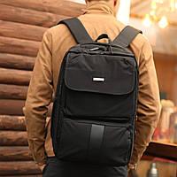 Рюкзак мужской городской с USB спортивный черный, фото 1