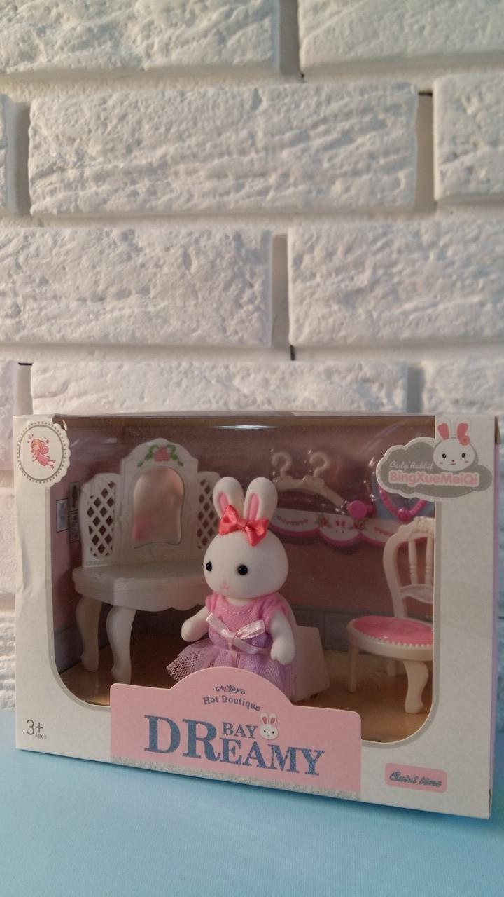 """Набір меблів """"Щаслива родина"""", персонаж, Ігровий набір флоксовые тварини, в коробці 6621-1"""