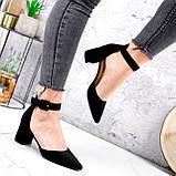 Туфли женские Roza черные 2839, фото 2