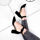 Туфли женские Roza черные 2839, фото 3