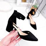 Туфли женские Roza черные 2839, фото 4