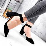 Туфли женские Roza черные 2839, фото 5