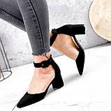 Туфли женские Roza черные 2839, фото 7