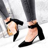Туфли женские Roza черные 2839, фото 8