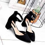 Туфли женские Roza черные 2839, фото 10
