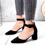 Туфли женские Roza черные 2839, фото 9