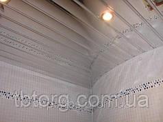 Подвесной потолок Рейка зеркало-хром