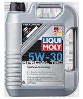 Моторное масло синтетика LIQUI MOLY 5W-30 5L Special Tec