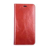 Чехол-книжка Valenta для телефона iPhone 6/6s Plus Коричневый КОД: H1215ip6p