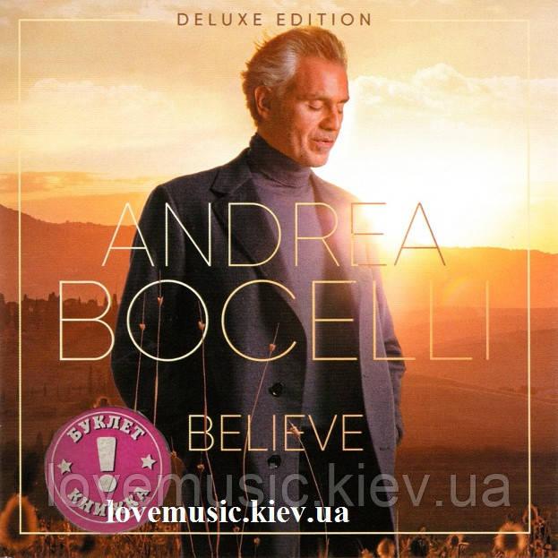 Музичний сд диск ANDREA BOCELLI Believe (2020) (audio cd)