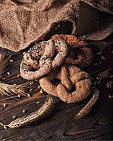 Кукурузная Брецель 2 шт 200 г (ТМ «В ритмі традицій») 2шт Кукурузная с белым кунжутом