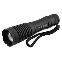 Тактический фонарь POLICE BL 1837 T6 50000W фонарик 1000 Lumen