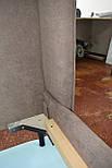 Современная кровать в ткани с мягким изголовьем 1600*2000, фото 9