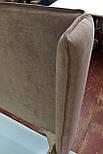 Сучасна ліжко в тканини з м'яким узголів'ям, фото 10