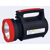 Потужний Прожектор Світлодіодний Ліхтар Yajia YJ-2886 5W + Power Bank