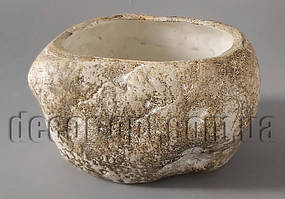 Кашпо під камінь 14х10х7,5см К1.099.15