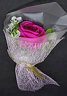 Подарочный Букет Роз Ароматическое Мыло Подарок на День Святого Валентина 8 Марта Цвета в Ассортименте, фото 1