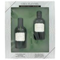 Geoffrey Beene Grey Flannel -  Набор (туалетная вода 120 + бальзам после бритья 120), мужская парфюмерия (