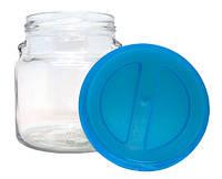 Банка для сыпучих продуктов EverGlass с пластиковой крышкой 550 мл 6 шт 1551Н