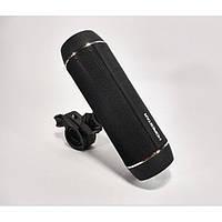 Портативна Bluetooth Колонка HOPESTAR P11 + Ліхтар + Велосипедне Кріплення Чорний