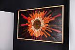 Дизайнерські панно з дерева Сонце, фото 8
