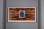 Картина панно з дерева відбиток пальця, фото 2