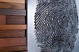 Картина панно з дерева відбиток пальця, фото 6
