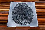 Картина панно з дерева відбиток пальця, фото 7
