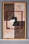 Дизайнерские панно из дерева COVID 19, фото 3
