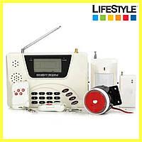 Сигнализация в квартиру GSM DOUBLE NET G 360 / Сигнализация для дома