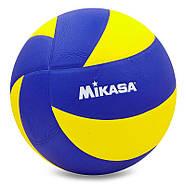 Мяч волейбольный клееный Mikasa MVA-310, фото 3