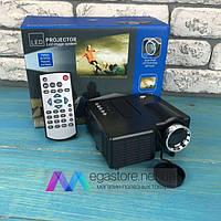Портативный мини проектор UC28 для дома смартфона лед led проэктор карманный домашний домашнего кинотеатра
