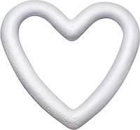 Пенопластовая заготовка сердце контурное Knorr Prandell 20 см, КОД: 1936429