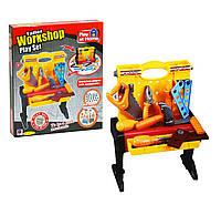 Чемодан-столик для инструментов Верстак MiC игрушки для мальчика девочки детские развивающие интерактивные