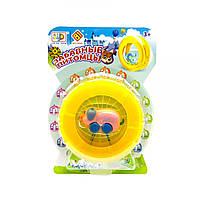 Интерактивная игрушка в колесе Хрюшка-веселушка JIA DU TOYS игрушки для мальчика девочки детские развивающие