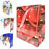 Новогодние подарочные пакеты оптом набор 12шт