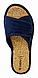 Женские тапочки Inblu Оригинал DZ-10X blue, фото 4
