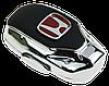 Ароматизатор для автомобиля с логотипом  HONDA (Крепление на решетку, парфюмерная отдушка 5мл, салфетка,, фото 3