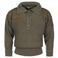 """Австрійський вовняний светр """"Alpin"""" темно-зелений"""