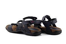 Мужские сандали кожаные летние синие StepWey 1072, фото 3
