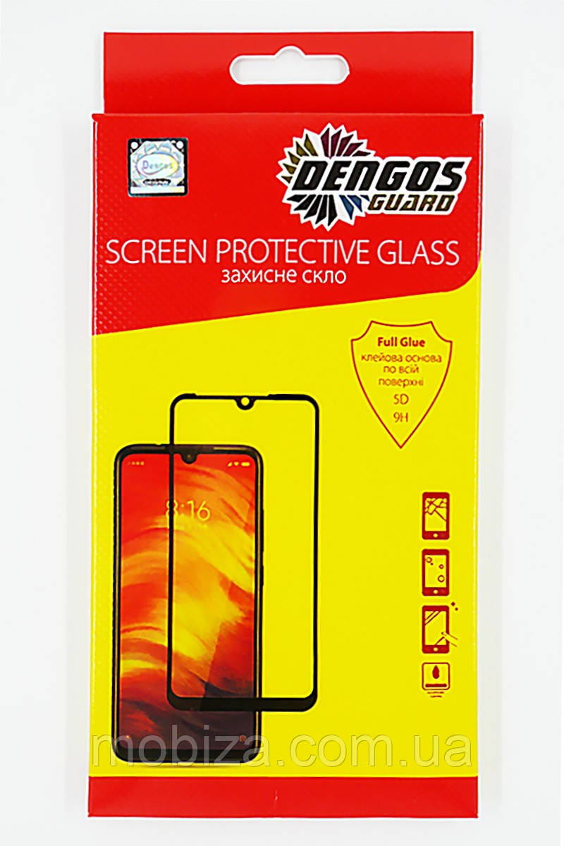 Захисне скло DENGOS Full Glue Privacy для Samsung Galaxy A31 (black)