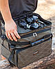 Сумка Fisher рыбацкая 3х секционная для хранения мелких аксессуаров,, фото 3