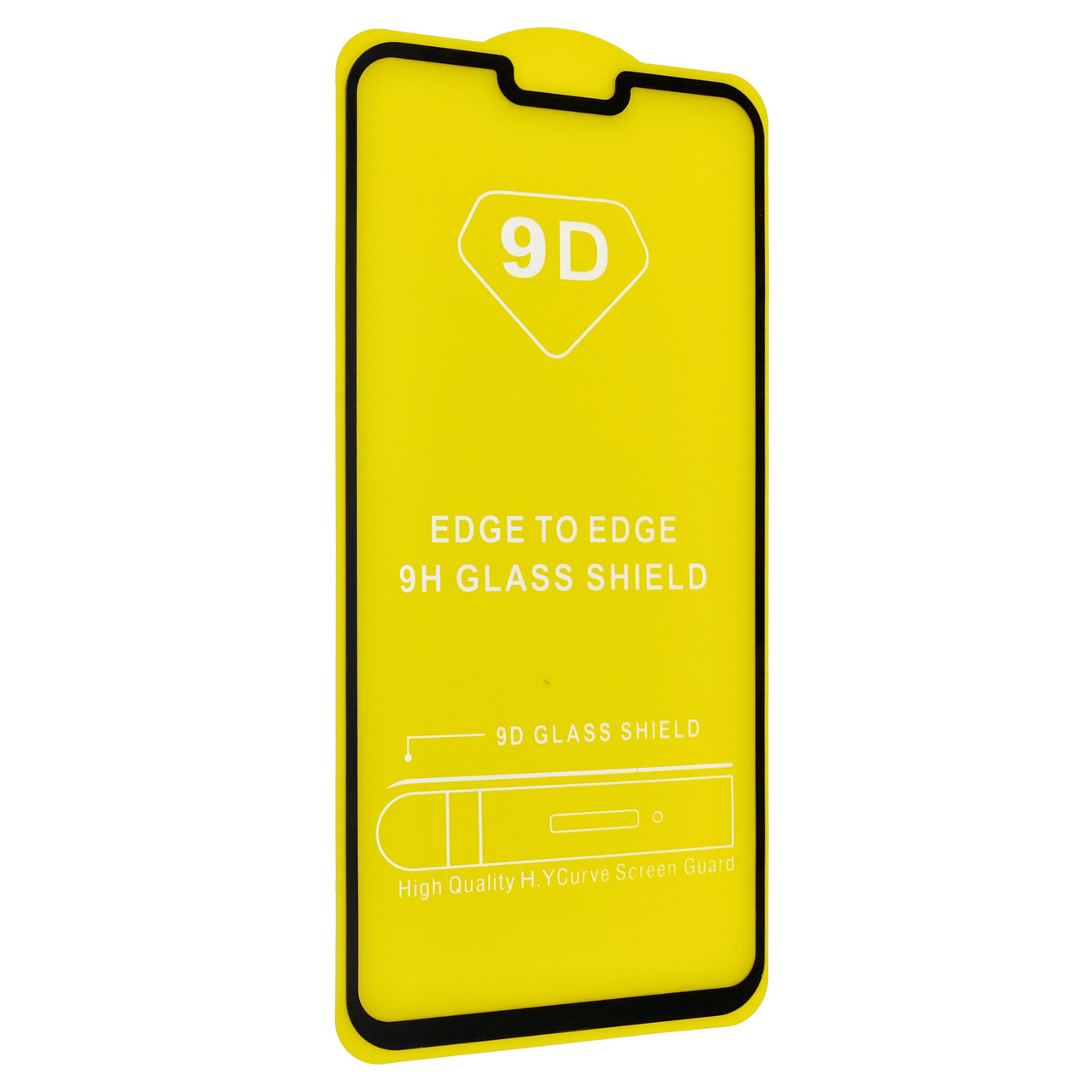 Защитное стекло DK Full Glue 9D для OnePlus 6 (011035) (black)